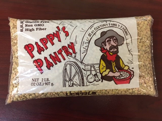 Pappy's Pantry Lentils For Sale